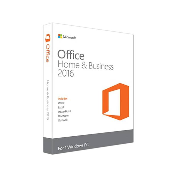 MICROSOFT Office Home and Business 2016 Box Pack 2016