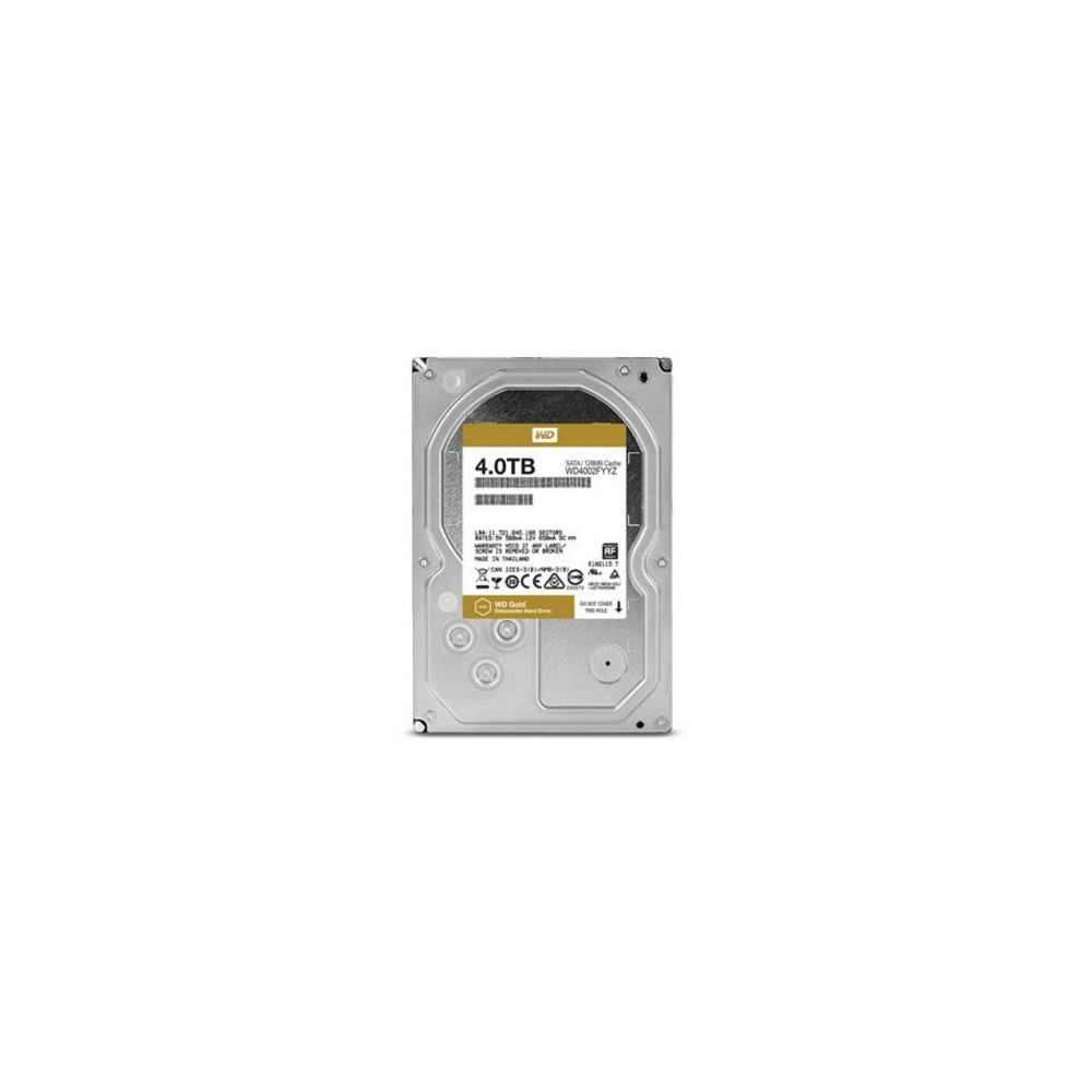 WESTERN DIGITAL Gold 4 TB Serial ATA III