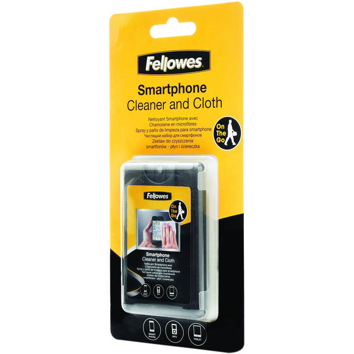 FELLOWES Cleaning Kit - Chiffons et liquide de séchage