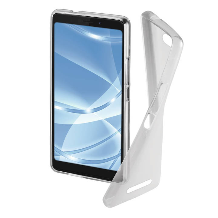 """HAMA Backcover """"Crystal Clear"""" für WIKO Tommy 3"""