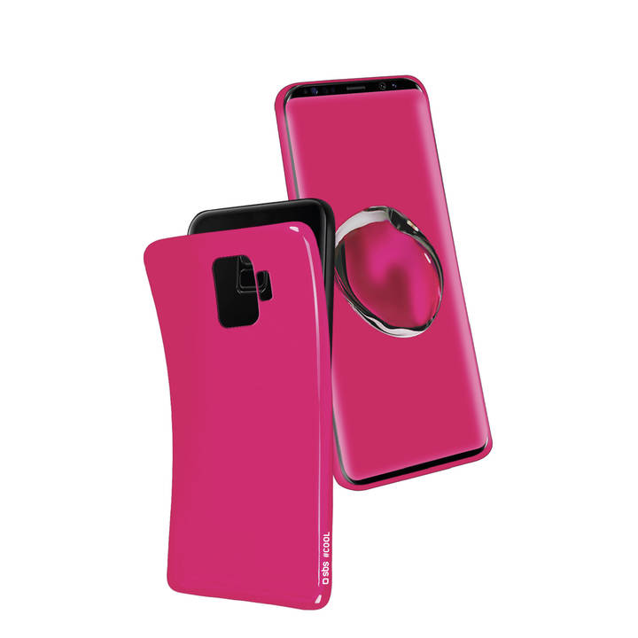 SBS Backcover Cool, Galaxy S9+, Pink