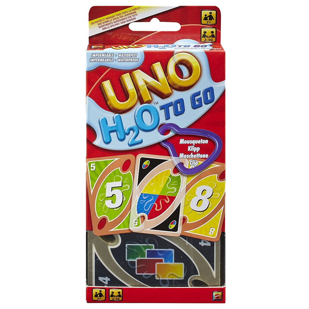 Mattel Games UNO H2O To Go Alter: 7+ Spi