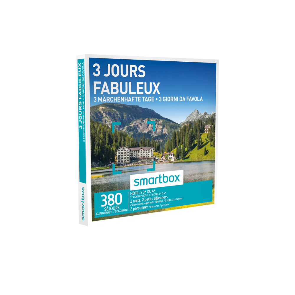 SMARTBOX 3 jours fabuleux - Interdiscount