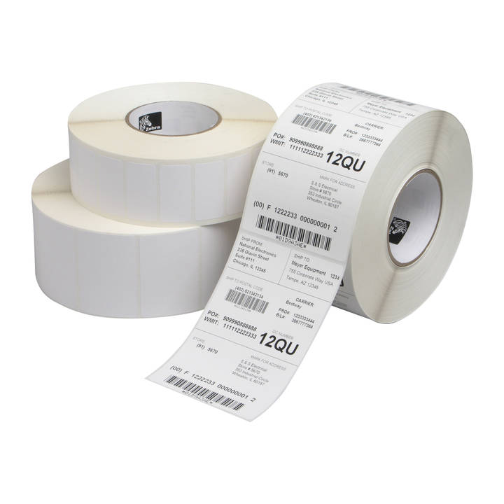 Zebra ZipShip Labels for Mid-Range and H