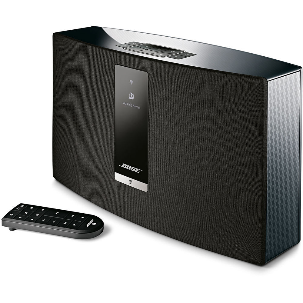 bose soundtouch 20 iii black interdiscount. Black Bedroom Furniture Sets. Home Design Ideas
