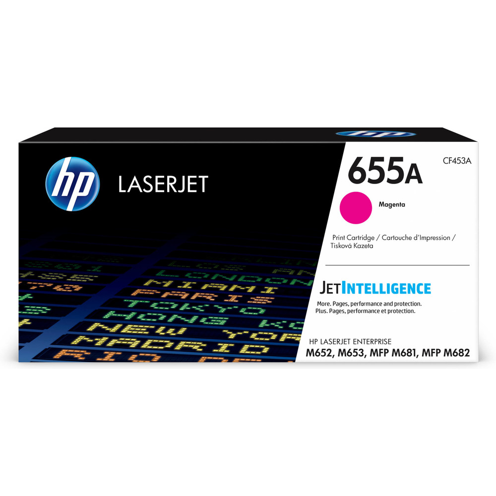 HP 655A Originaltoner Magenta