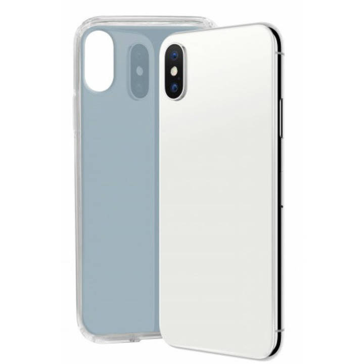 SBS Cover Glue für iPhone X Grey