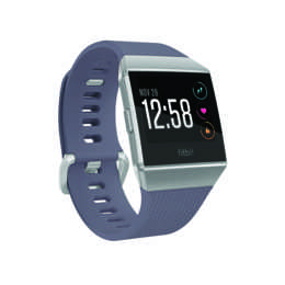 FITBIT GPS-Sportuhr Ionic Blue-Gray/White