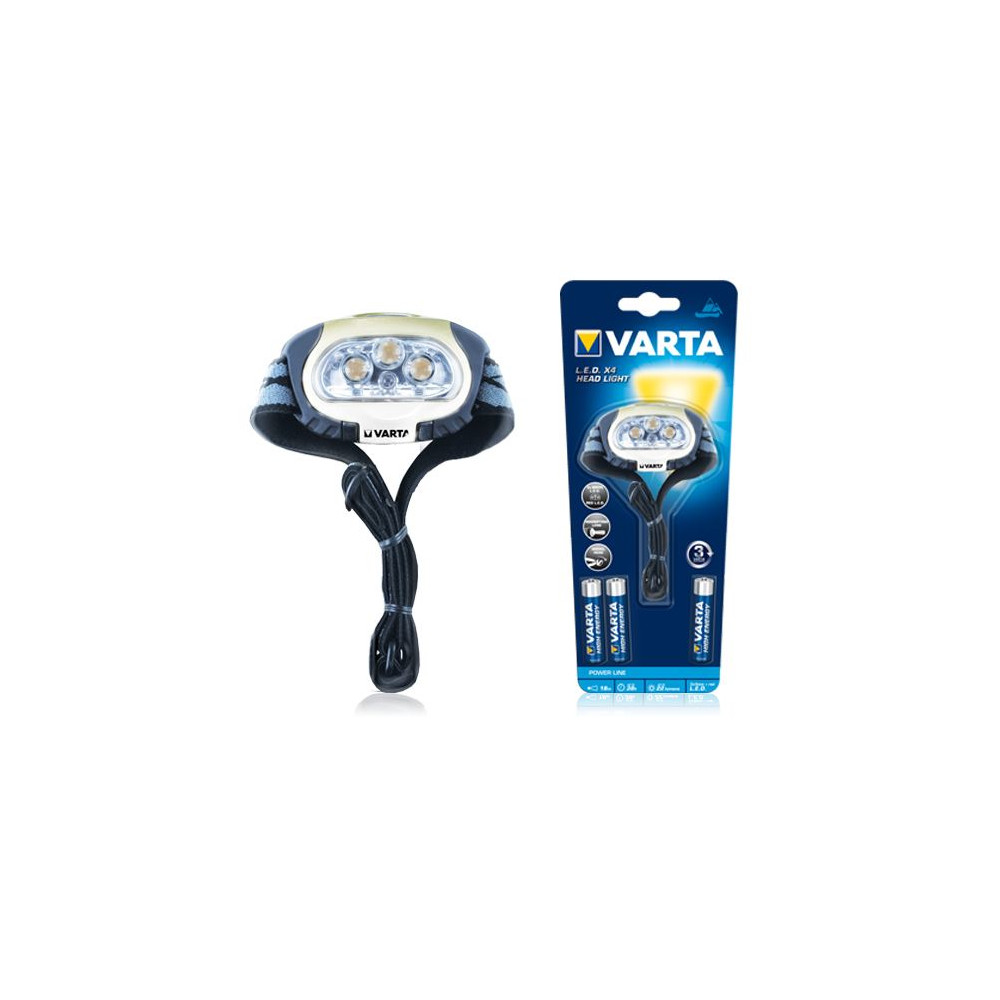 VARTA LED 4x Head Light 3AAA