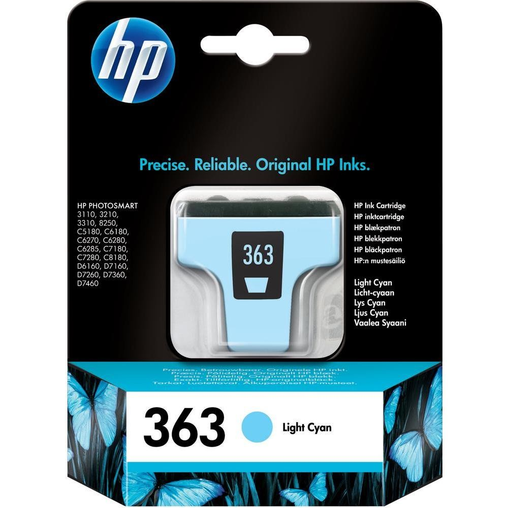 HP 363 Ink Cart Light Cyan Original