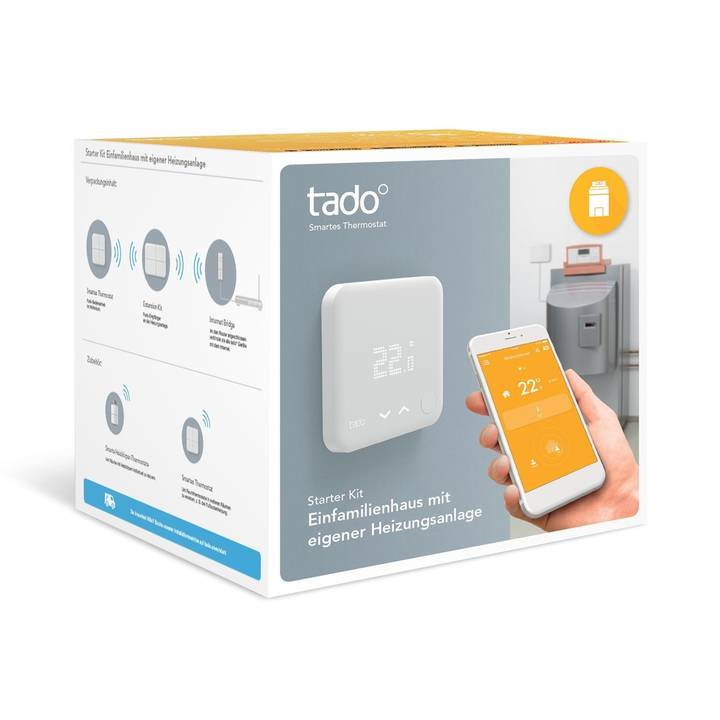 TADO Smart Thermostat - Starter Kit (v3) inkl. Extension Kit (CH)