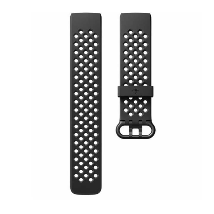 FITBIT Charge 3 Access Sport Band (L) Black