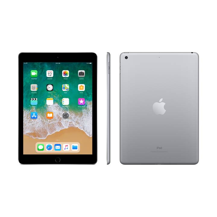 "APPLE iPad WiFi, 9.7"", 32 GB, Space Grau (2018)"