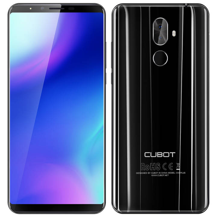 CUBOT X18 Plus, 64 GB, Dual-SIM, Black