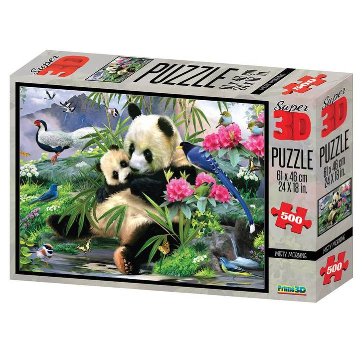 NATIONAL GEOGRAPHIC 3D Puzzle Misty Morning Panda