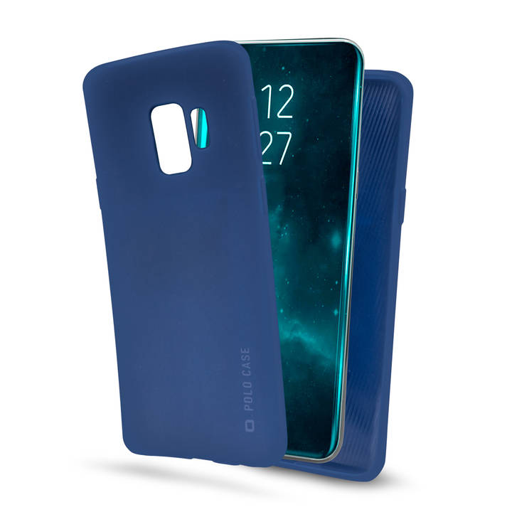 SBS Backcover Polo, Galaxy S9+, Blue