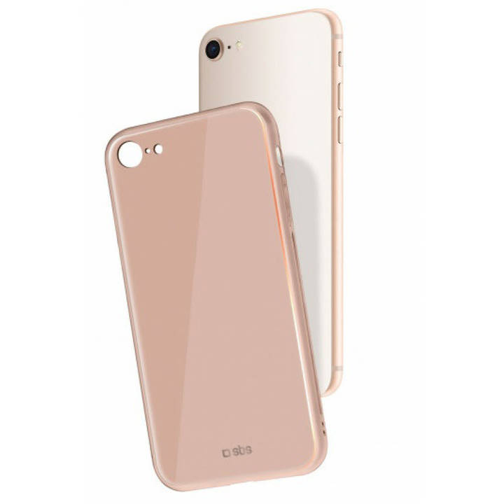 SBS Cover Vitro für iPhone 8 / 7 Rose