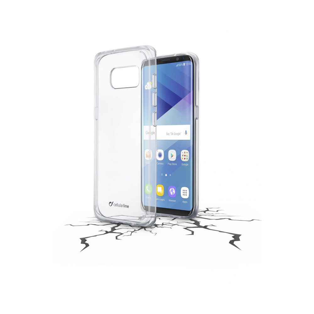 CELLULAR LINE Backcase Duo für Galaxy S8 Clear