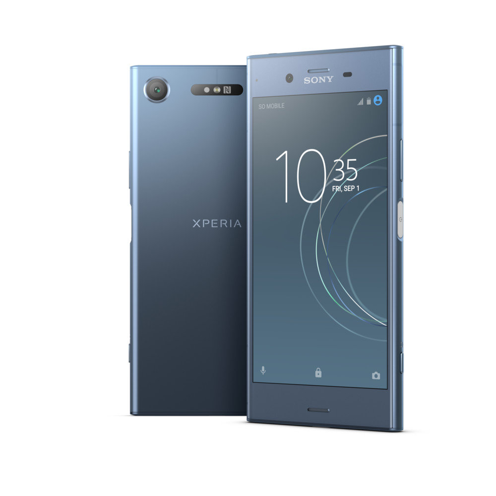 "SONY Xperia XZ1 5.2"" 64 GB Moonlit Blue"
