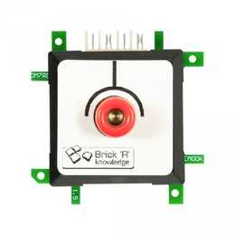 BRICK 'R' Messadapter 4mm Endpoint Rot