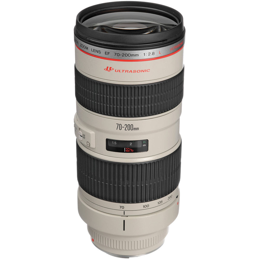 CANON EF 70 mm - 200 mm f/2.8 L