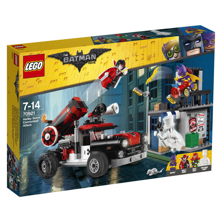 LEGO Batman Movie Harley Quinn Kanonenkugelattacke (70921)