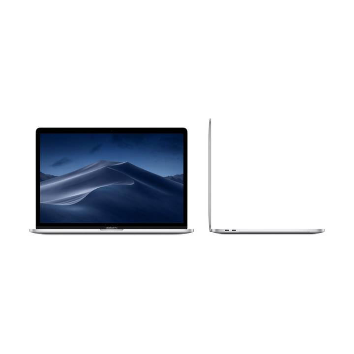 "APPLE MacBook Pro Retina 15"" Touch Bar, Silber, i7, 16 GB RAM, 256 GB SSD, 2018"