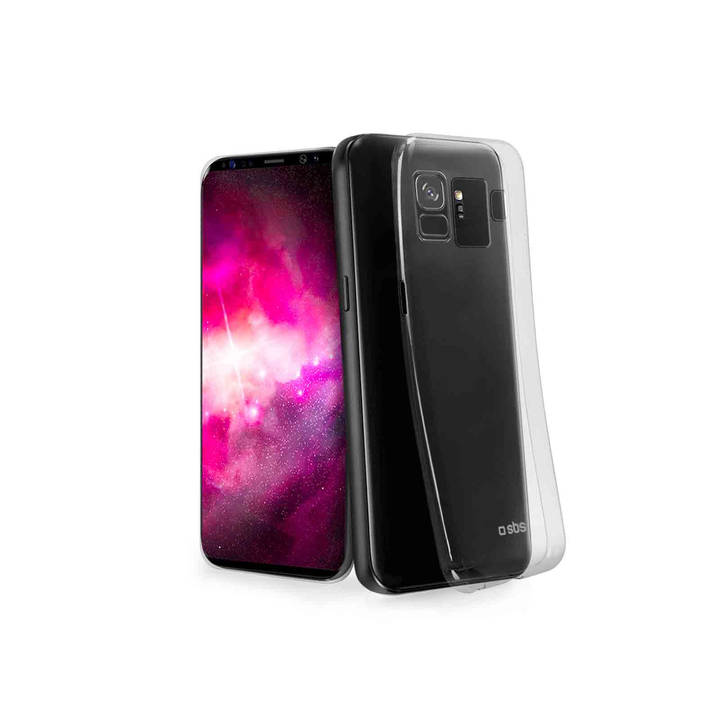 SBS Skinny Cover, Galaxy S9, Clear