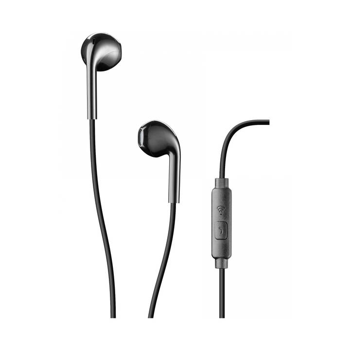 CELLULAR LINE Pump Bass In Ear Headset Live Black