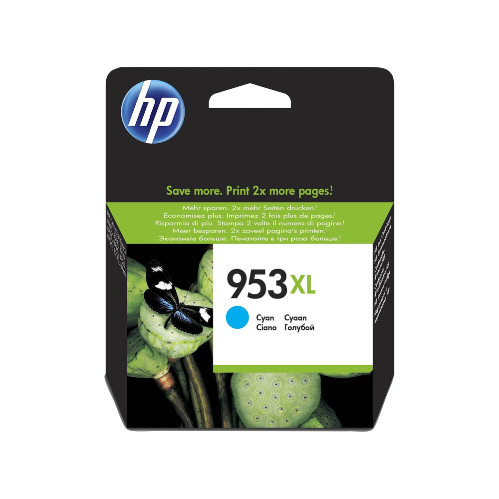 HP Ink Cartridge, 953XL, cyan
