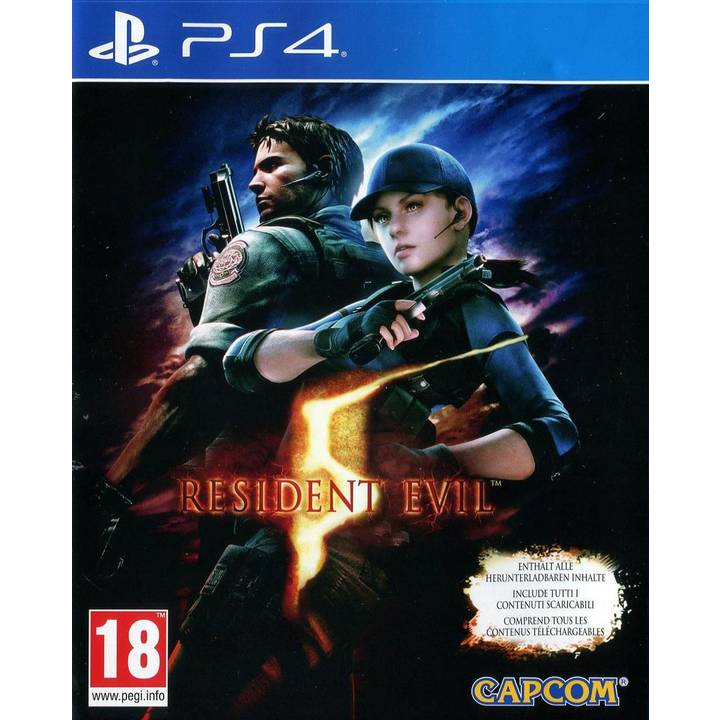 Resident Evil 5 HD, PS4 Alter: 18+