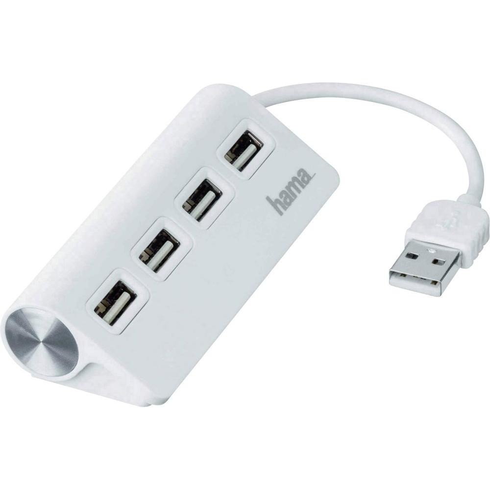 Hama 4 Port USB 2.0 Hub