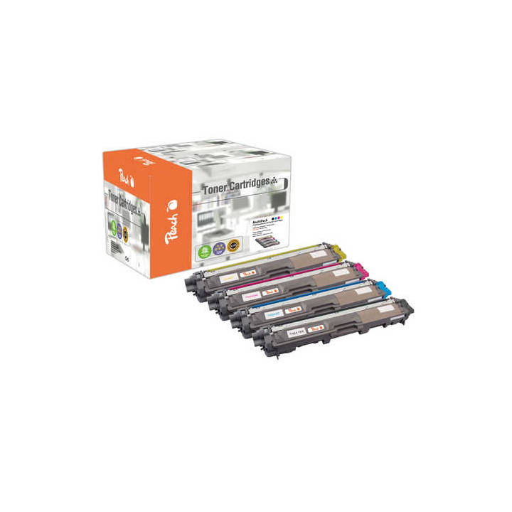 PEACH Brother Toner 4-Pack