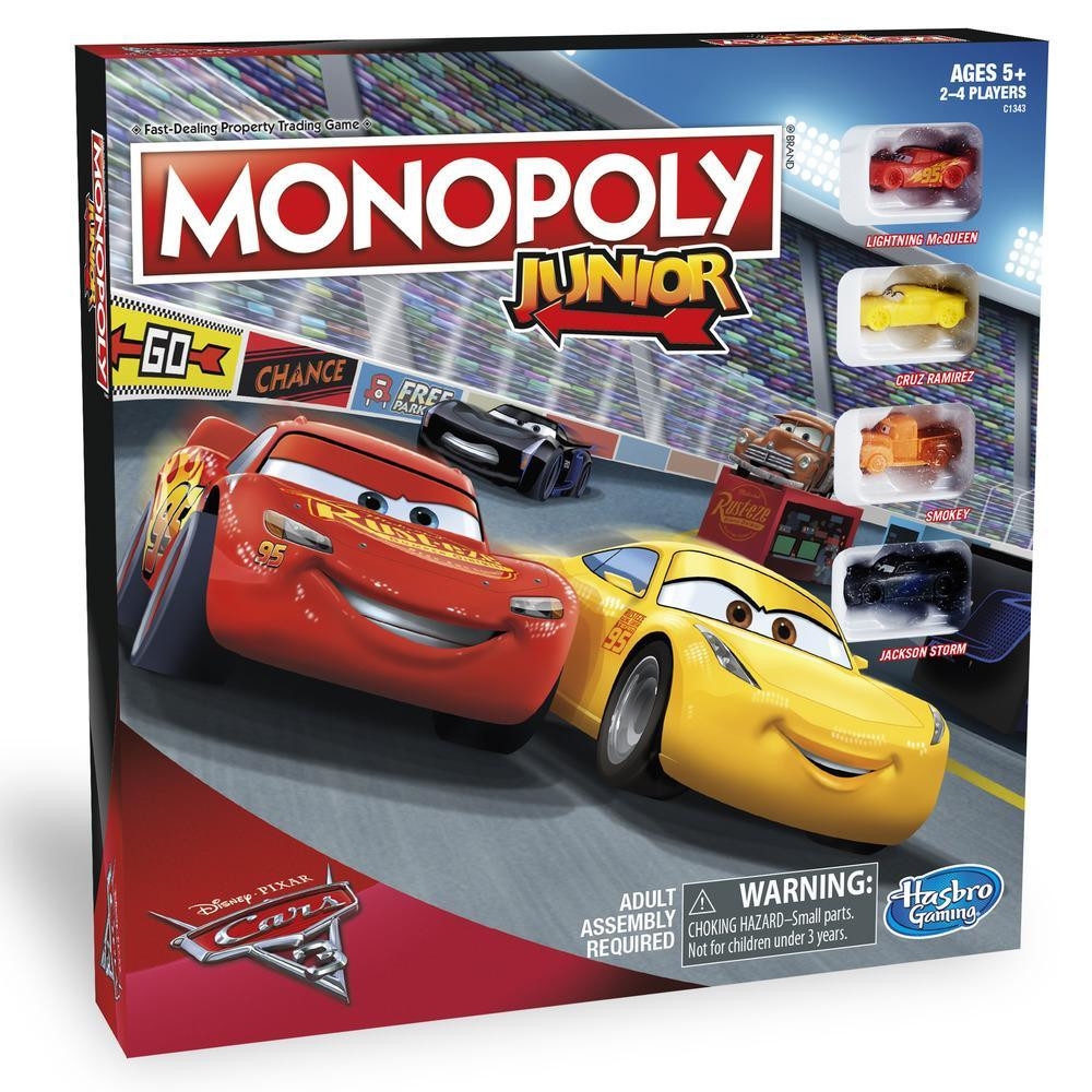 HASBRO Monopoly Junior Cars
