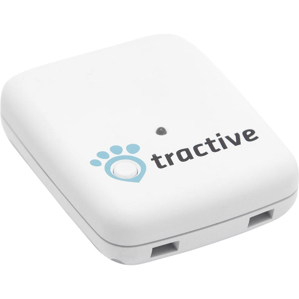 TRACTIVE GPS Pet Tracker White