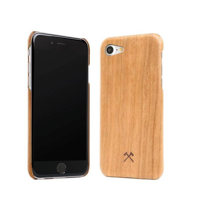 WOODCESSORIES Backcover EcoCase Kevlar iPhone 7 / 8 Kirsche