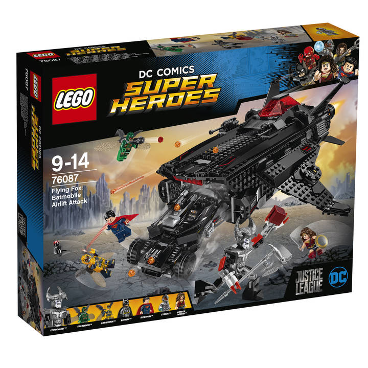 LEGO DC Comics Super Heroes Flying Fox : Batmobile Attack from the Air (76087)