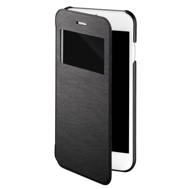 INTERTRONIC View-Cover für iPhone 6 / 6S Black