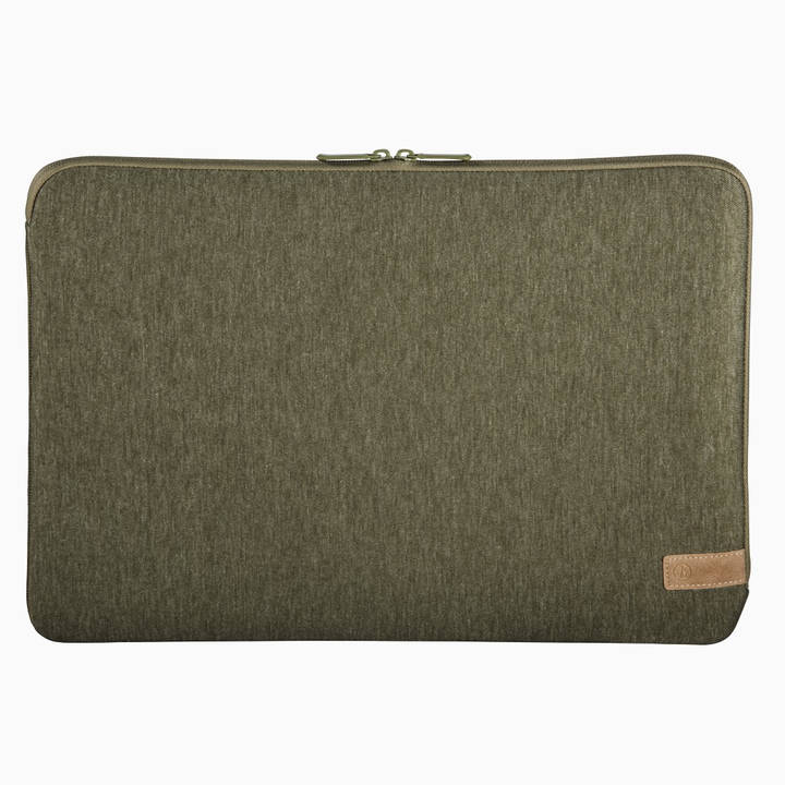 "HAMA Notebook Sleeve ""Jersey"" 15,6"" Olive"