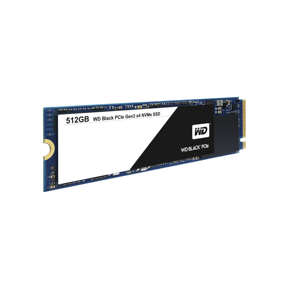 WESTERN DIGITAL Black 512 GB SSD PCI Express 3.0