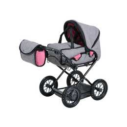 KNORRTOYS Puppenwagen Ruby jeans grey