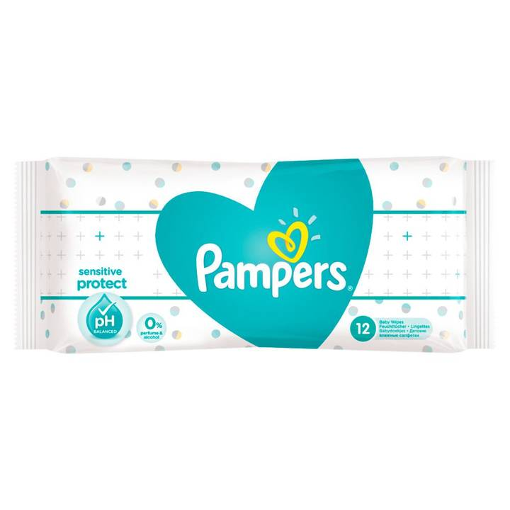 PAMPERS Feuchttücher Sensitive Reisepack