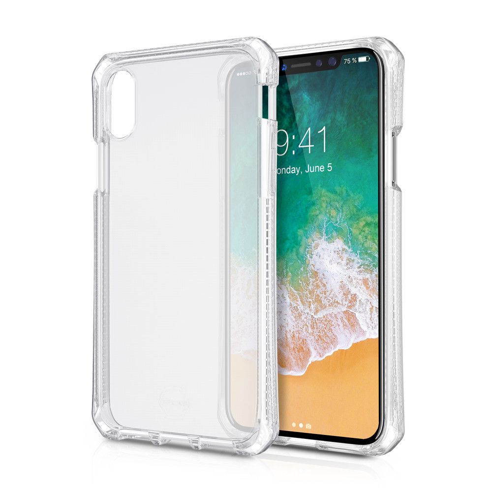 ITSKINS Backcover Spectrum pour iPhone X Clear