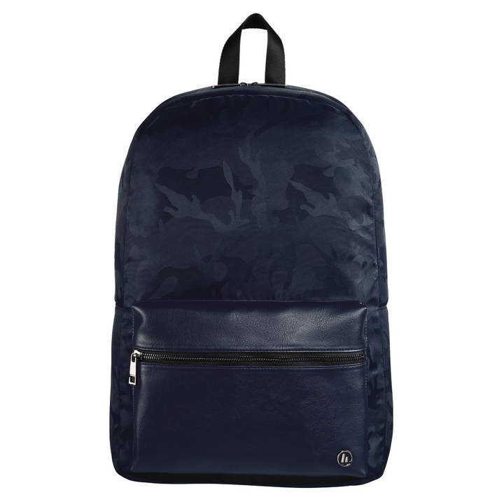 "HAMA Notebook Rucksack ""Mission Camo"" 15,6"" Navy Blue"
