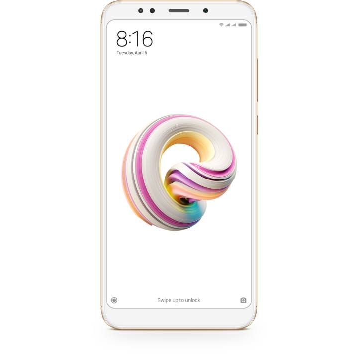 XIAOMI Redmi 5 Plus 64 GB Dual-SIM Gold, Global Version