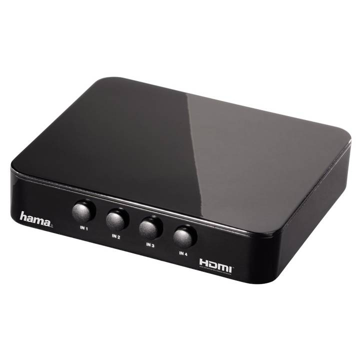 HAMA HDMI-Switch G-410 Black