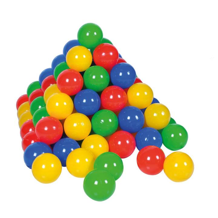 KNORRTOYS palle colorate 100 pezzi