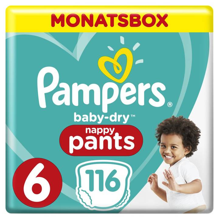 Pampers Baby Dry Pants Gr.6 Extra Large