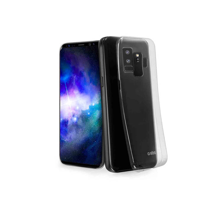 SBS Skinny Cover, Galaxy S9+, Clear