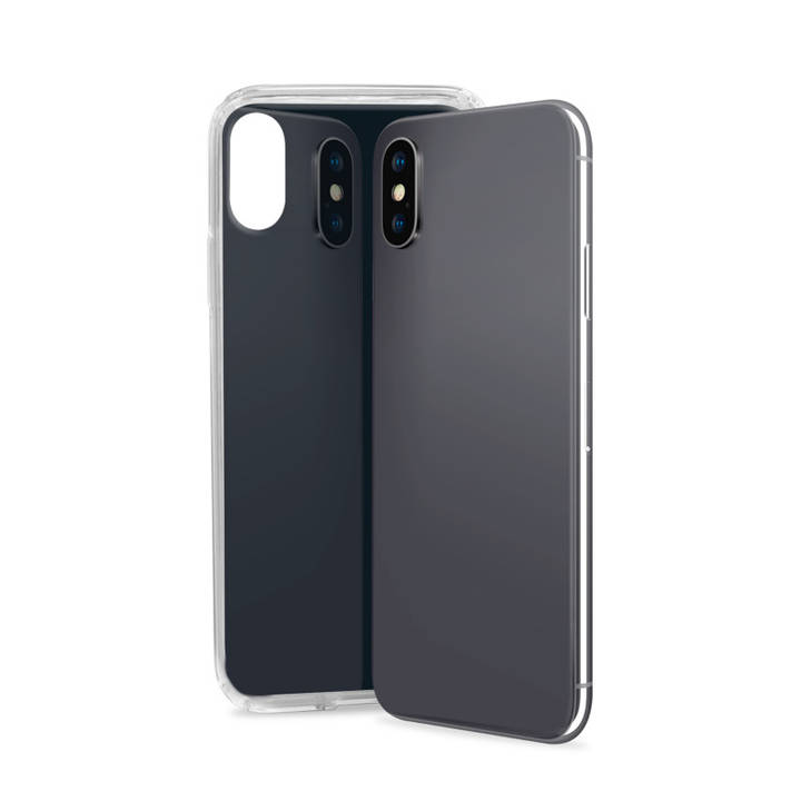 SBS Cover Glue für iPhone X Black